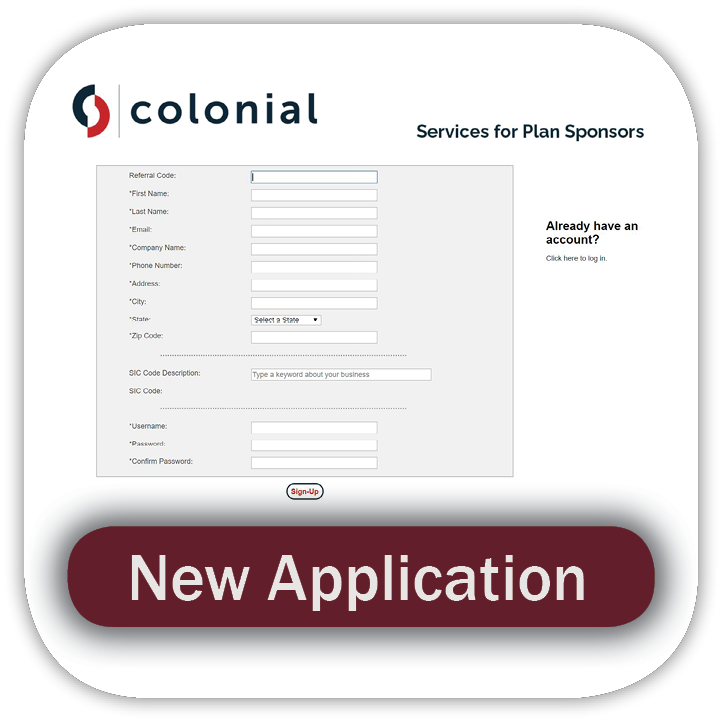 Colonial New Application